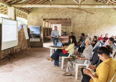 Curso do Projeto Semeando Água para produtores rurais e técnicos em Joanópolis (SP) - Crédito: Ilana Bar/ Estúdio Garagem