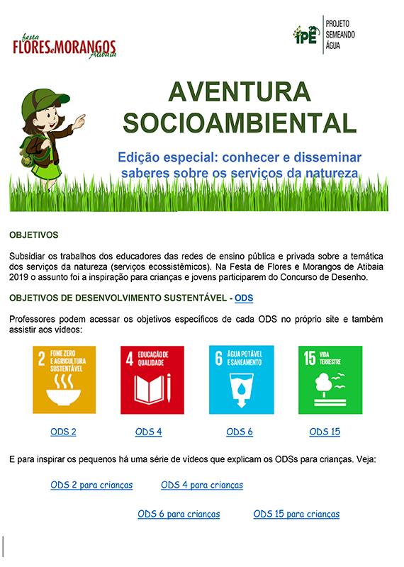 Aventura Socioambiental - Serviços Ecossistêmicos