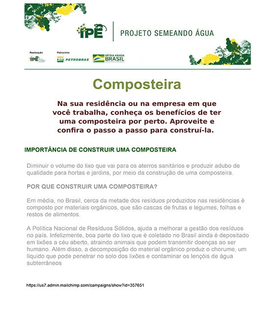 Boletim Técnico - Composteira